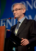 WCE2014 President, Mauricio Abrao, at the Closing Ceremony of the 12th World Congress on Endometriosis