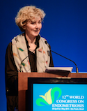 BMJ Editor, Fiona Godlee, speaking at the Opening Ceremony of WCE2014